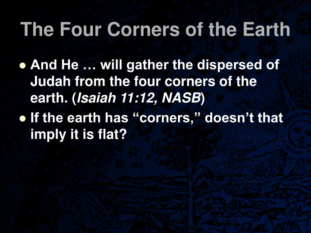 The Four Corners of the Earth