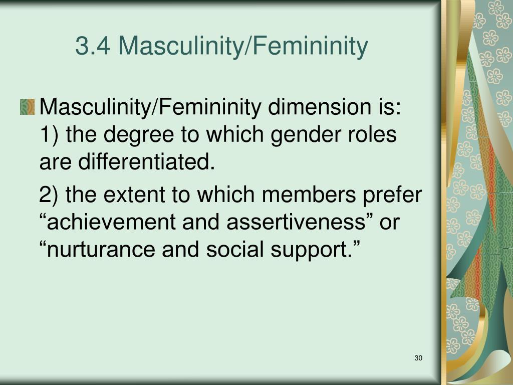 Masculinity Femininity Test - 0425