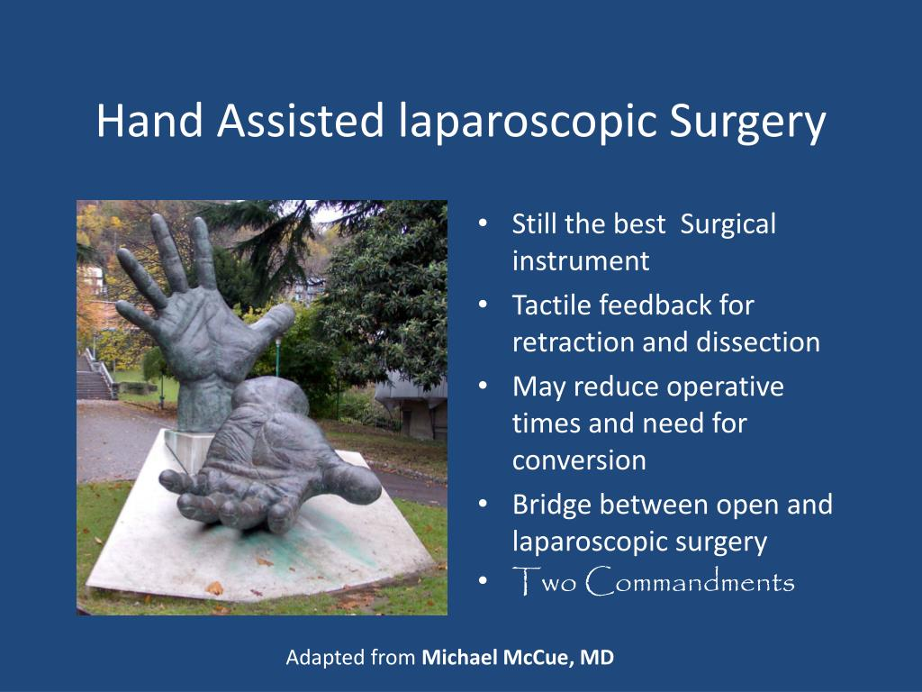 Hand Assisted laparoscopic Surgery