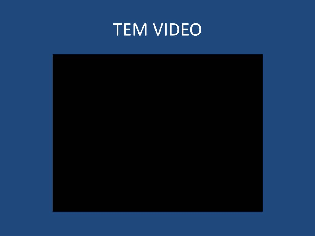 TEM VIDEO