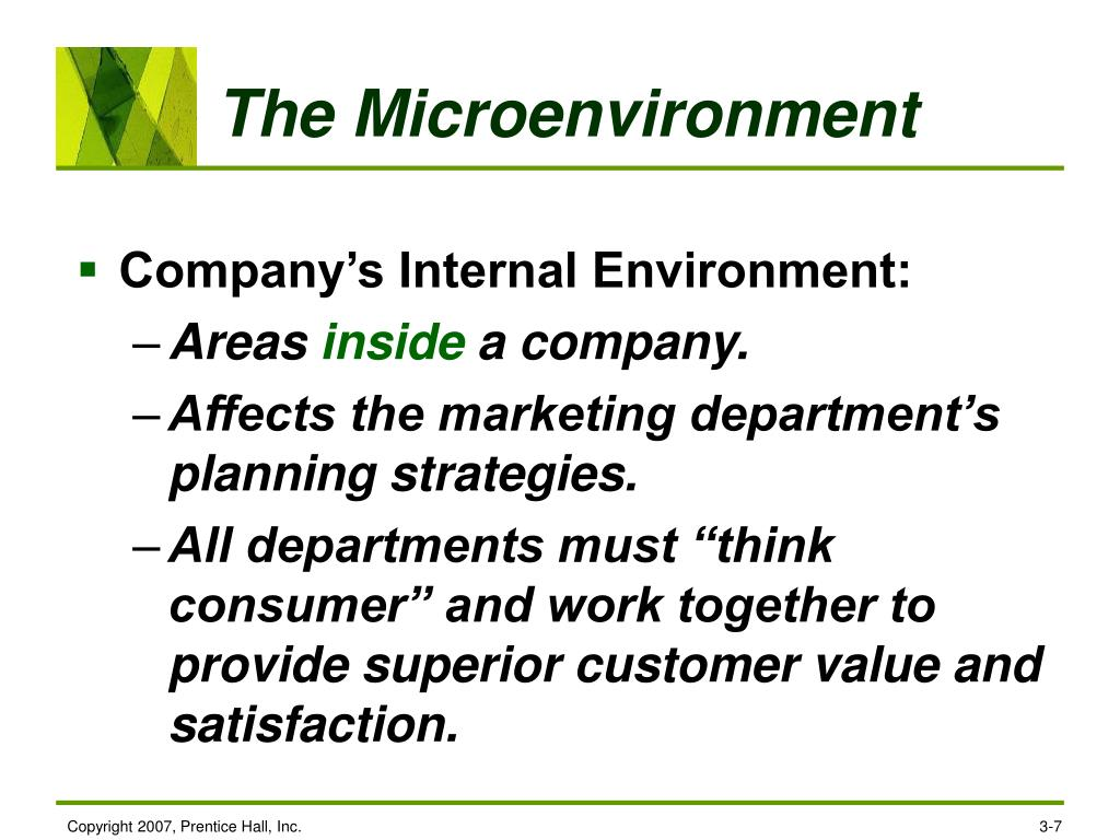 The Microenvironment