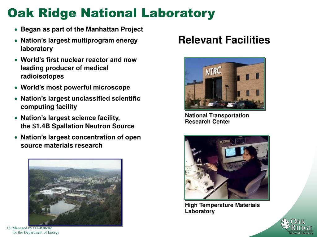 High Temperature Materials Laboratory