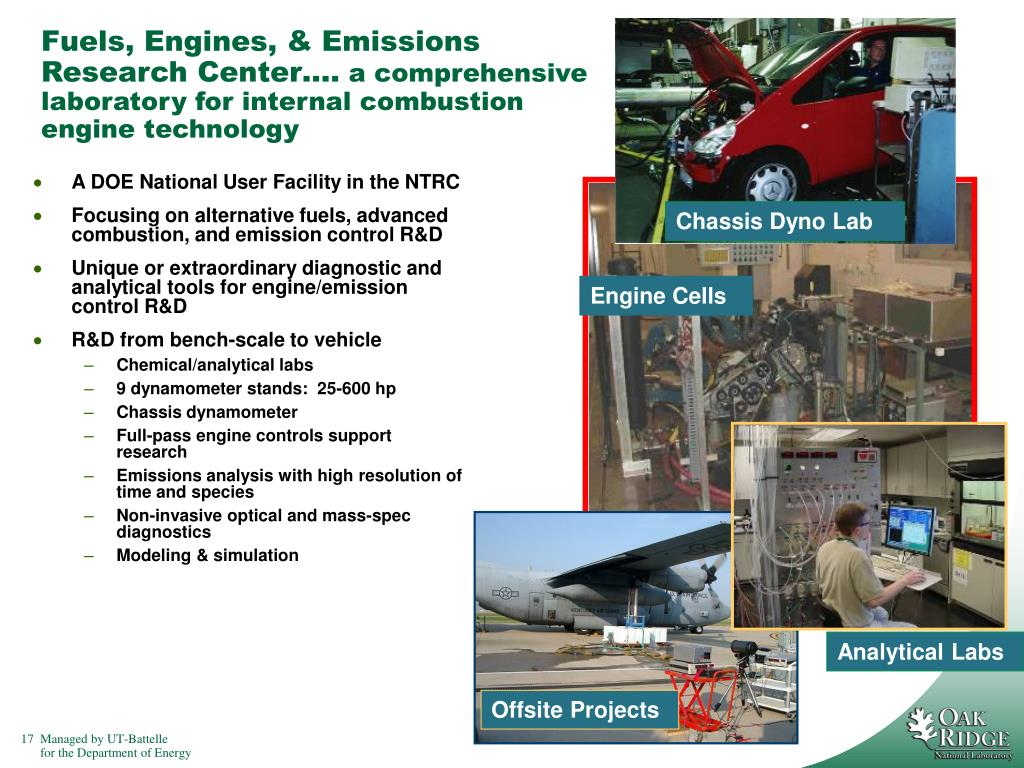 Fuels, Engines, & Emissions Research Center….