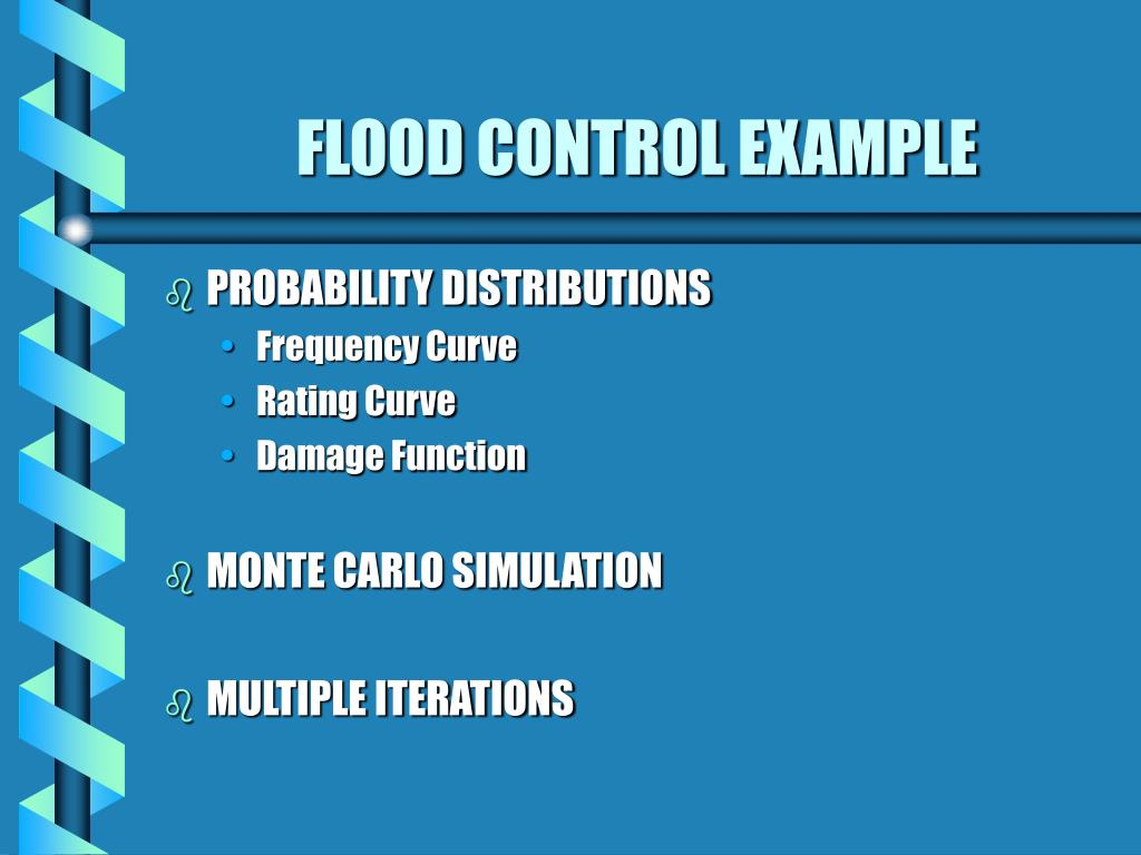 FLOOD CONTROL EXAMPLE