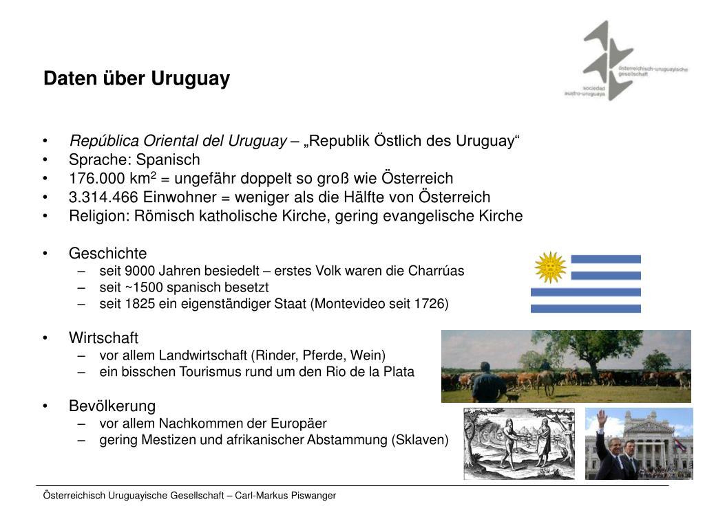 Daten über Uruguay