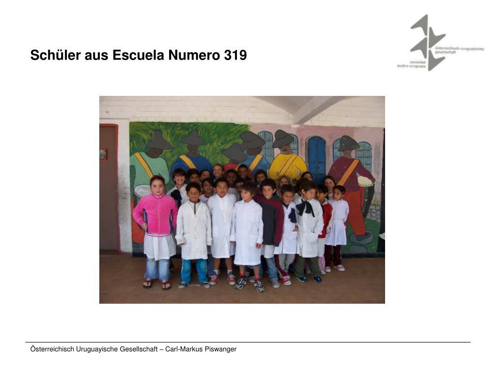 Schüler aus Escuela Numero 319