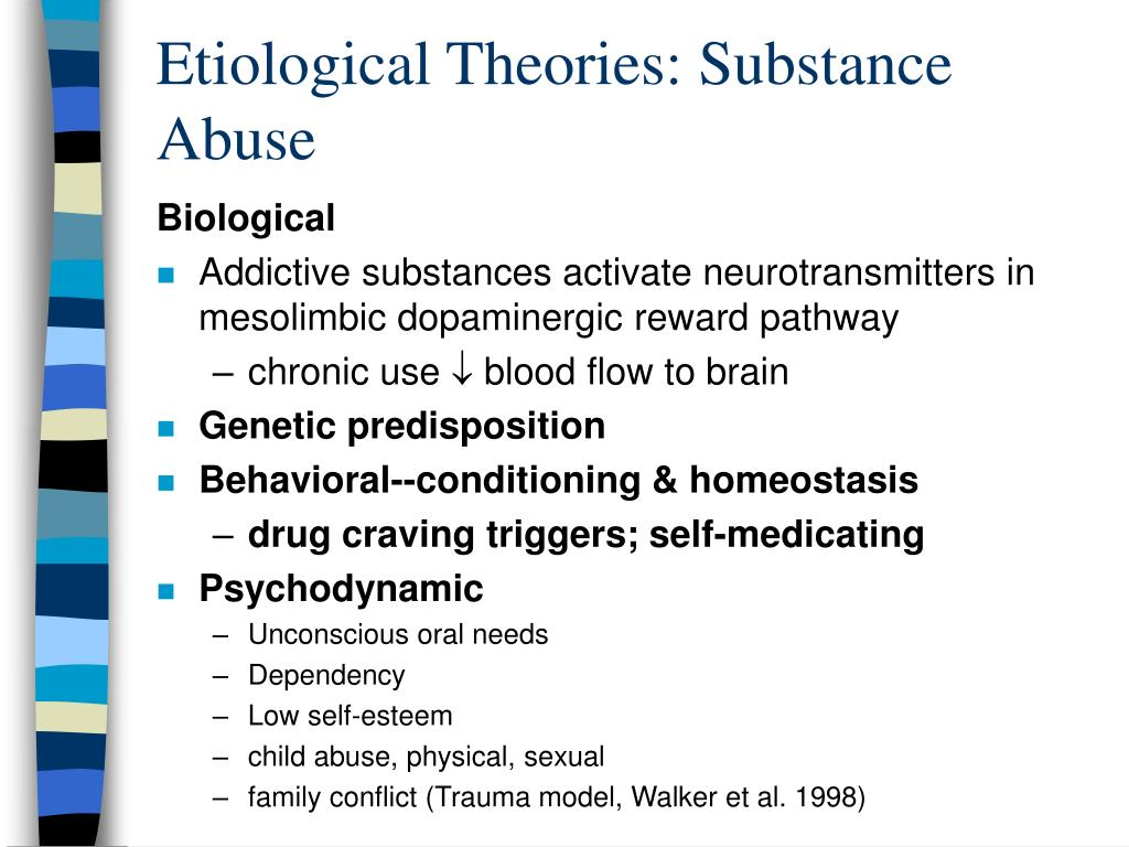 conflict theory on drug abuse Further gains in the prevention of drug abuse disorders require in-depth and holistic journal of addiction is a peer in conflict theory of abuse.