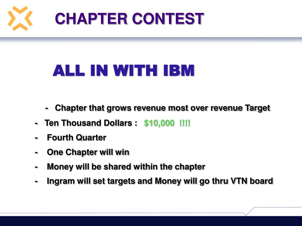CHAPTER CONTEST