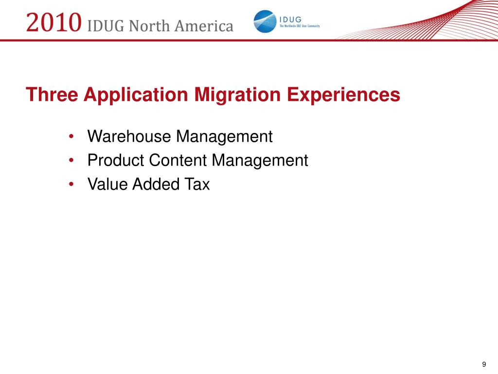 Three Application Migration Experiences