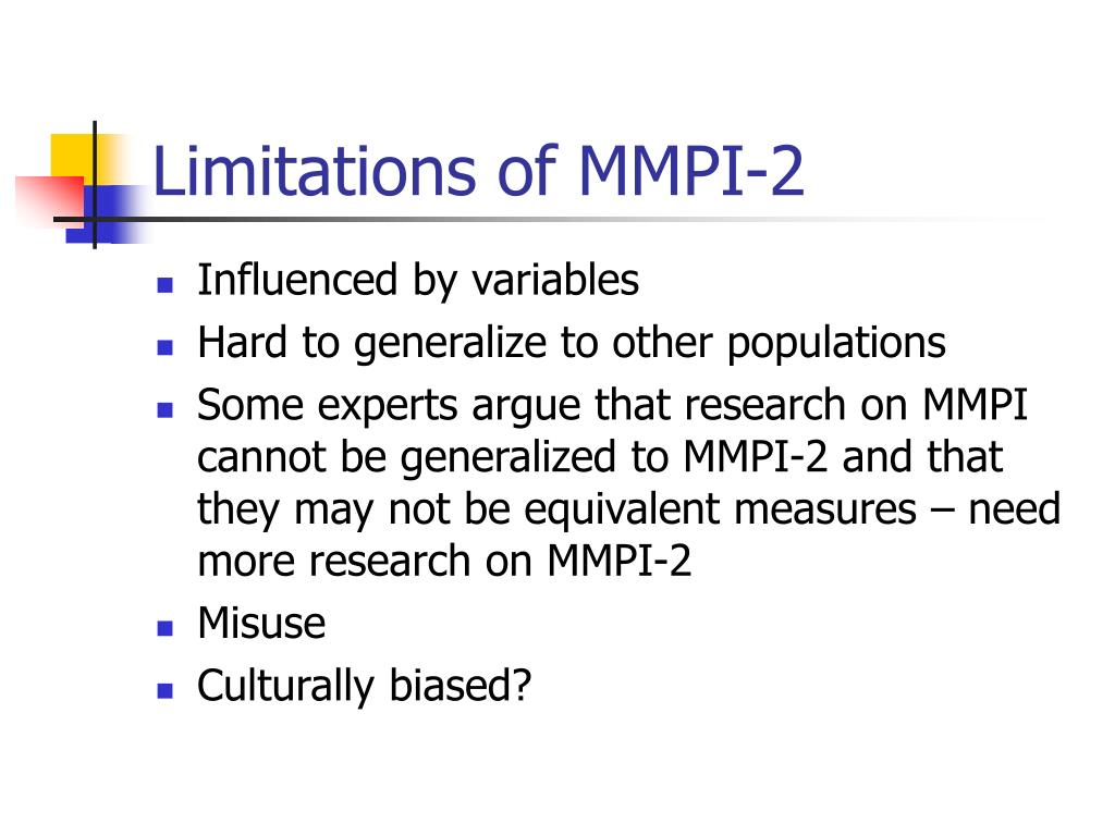 PPT - Minnesota Multiphasic Personality Inventory (MMPI-2 ...