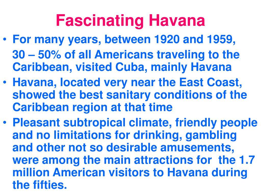 Fascinating Havana