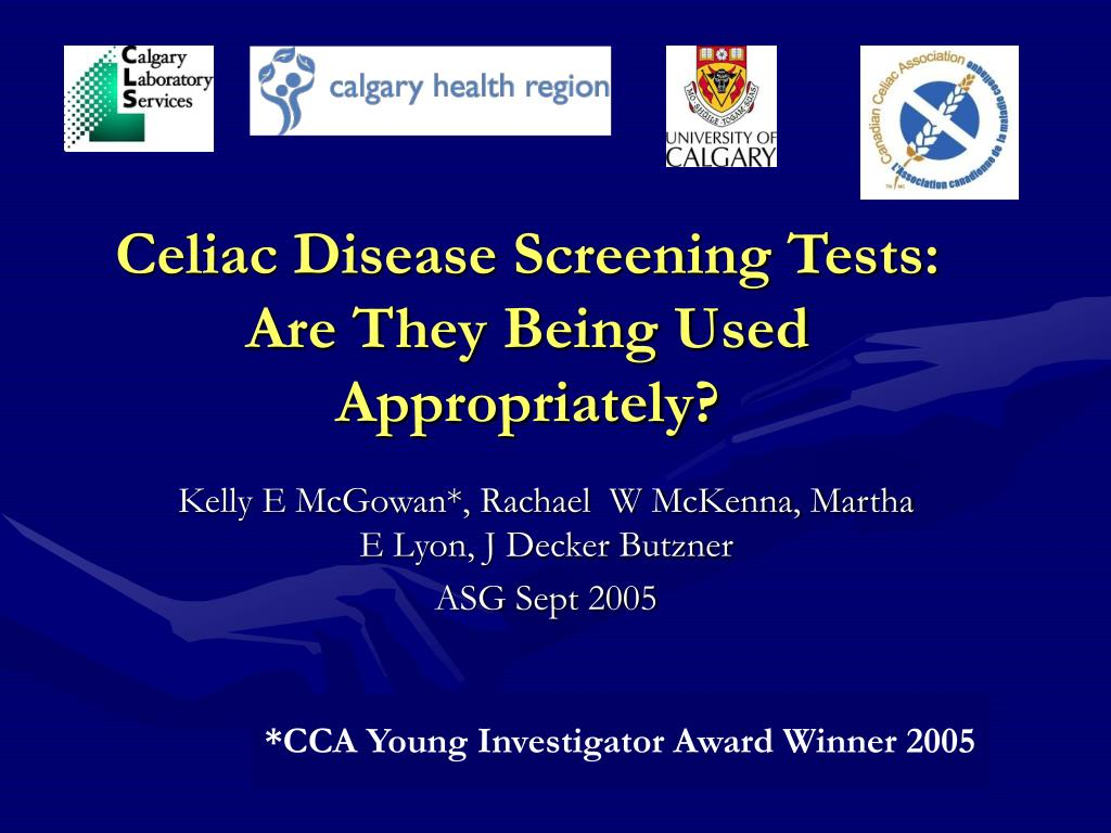 Celiac Disease Screening Tests: Are They Being Used Appropriately?