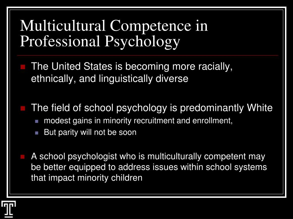 competence in counseling We highlighy 5 important aspects of multicultural counseling competencies that you will learn in the counseling psychology graduate program at delaware valley college.