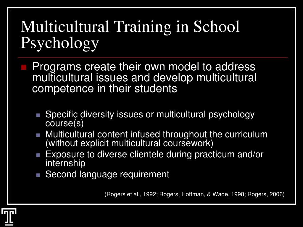 Social Psychology and Multicultural Pschology Paper PSYCH 620