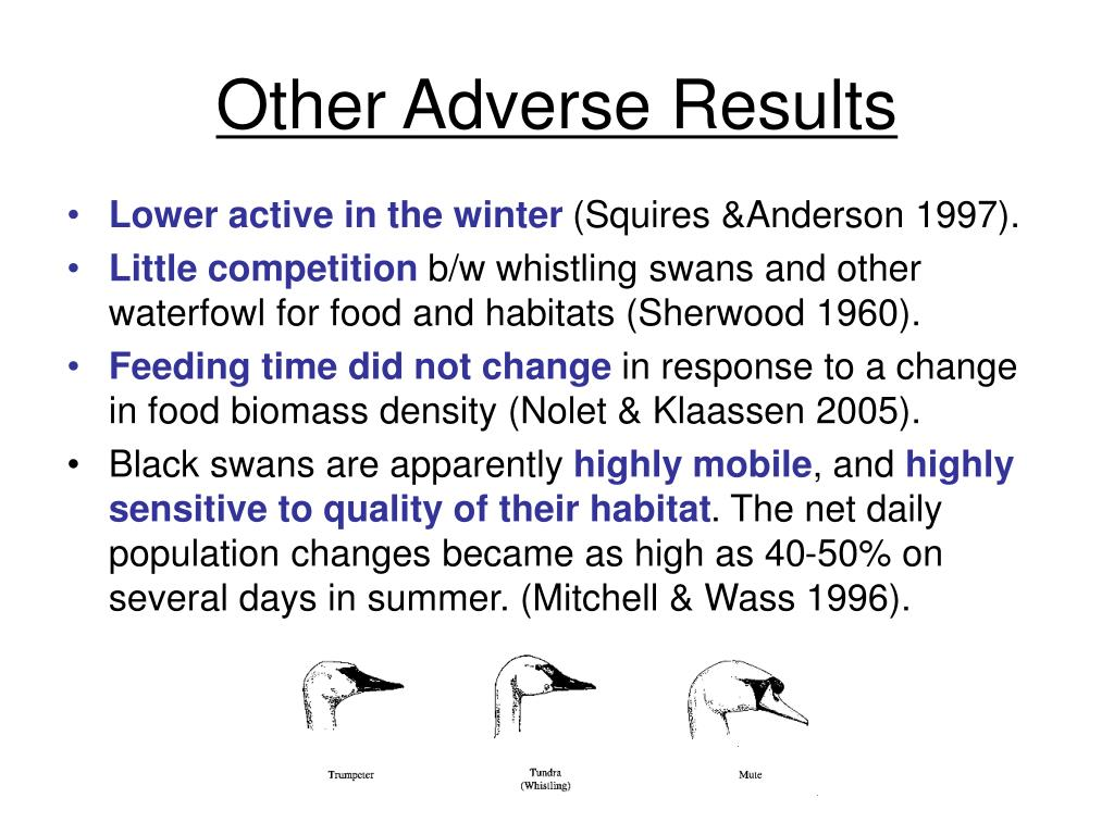 Other Adverse Results