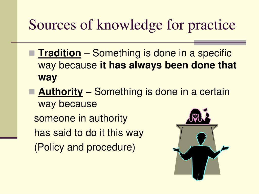 sources of knowledge The sources of knowledge appear robust in driving productivity however, other  determinants postulated by different theoretical models are also.