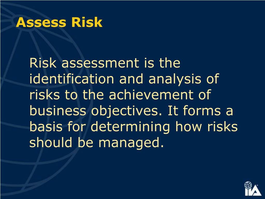 Assess Risk