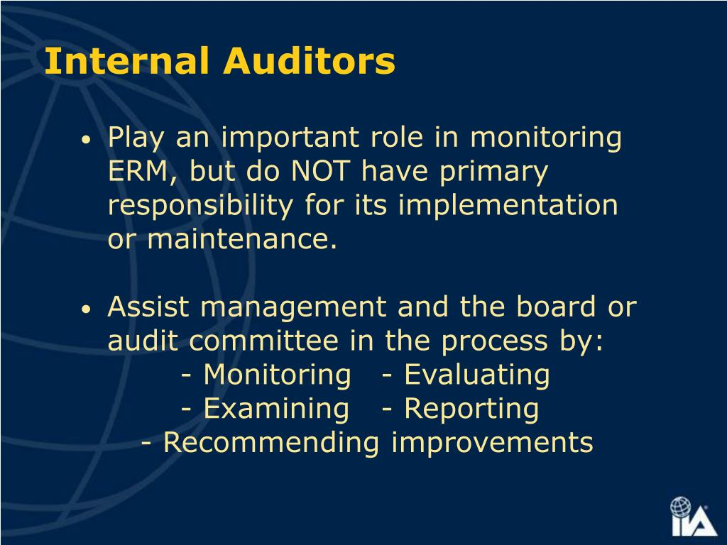 Internal Auditors