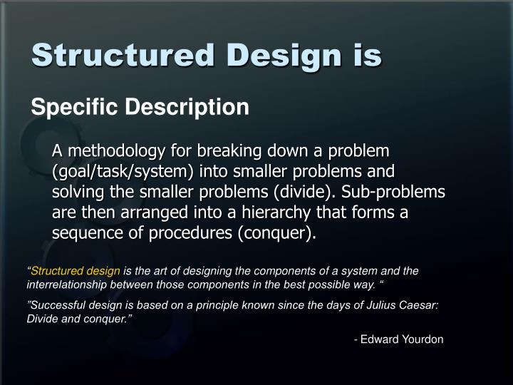 Structured design is3 l.jpg