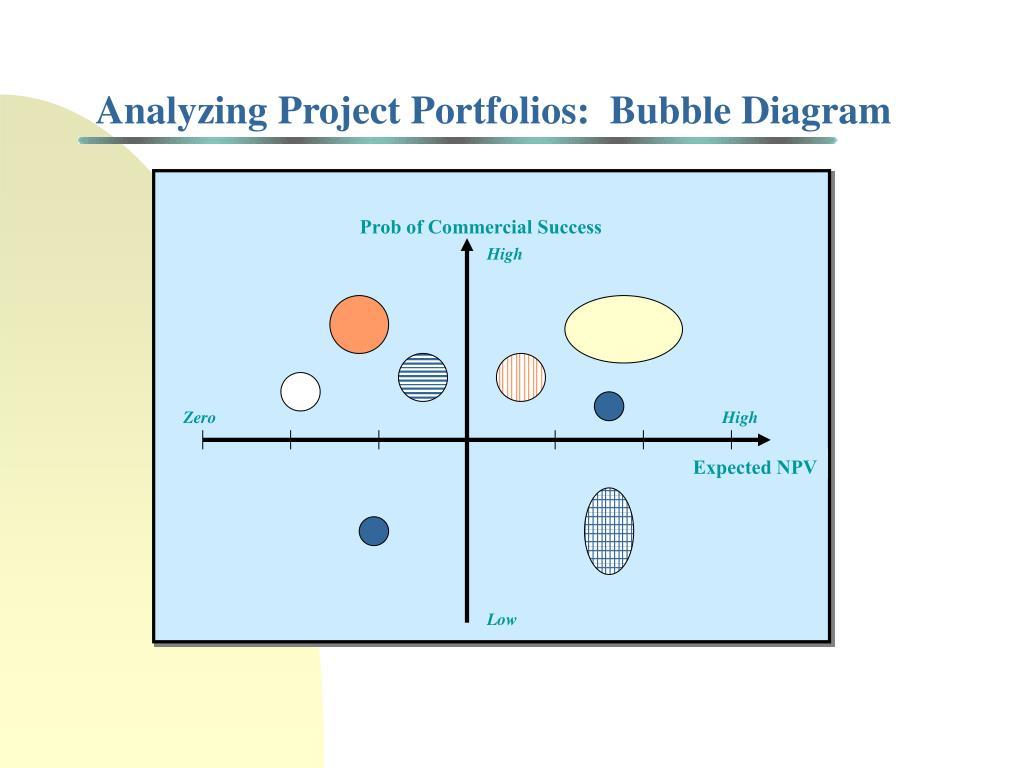 Analyzing Project Portfolios:  Bubble Diagram