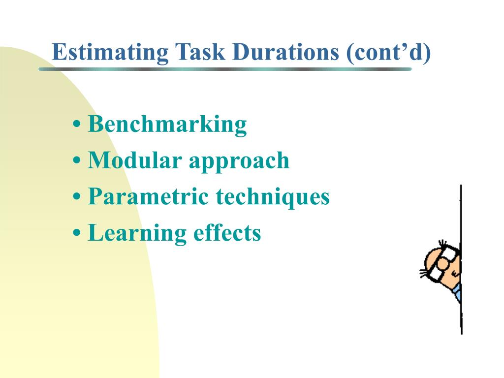 • Benchmarking