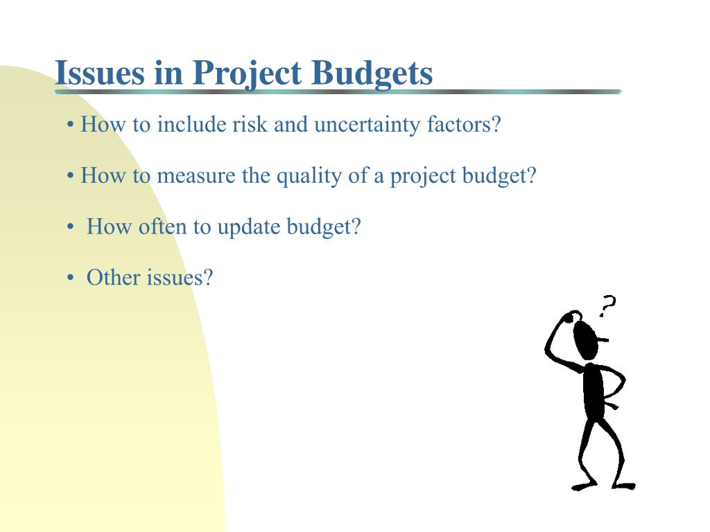 Issues in Project Budgets