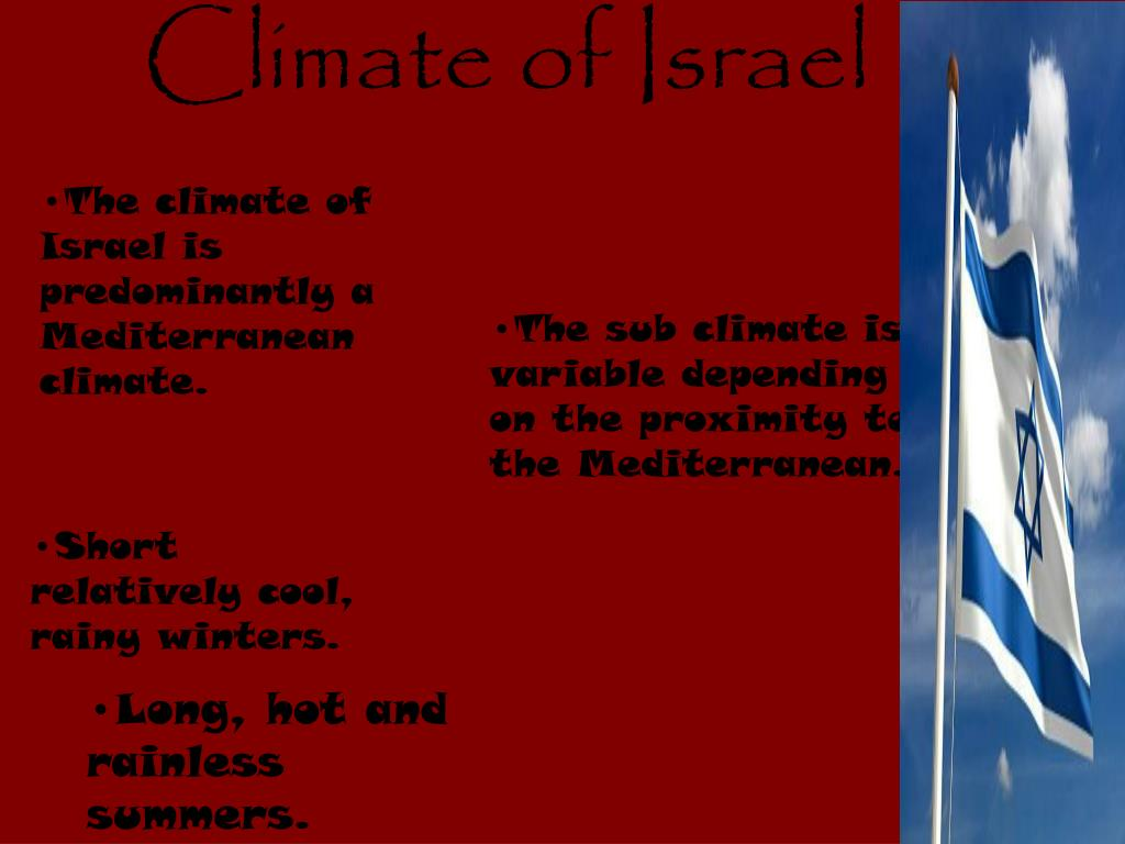 Climate of Israel