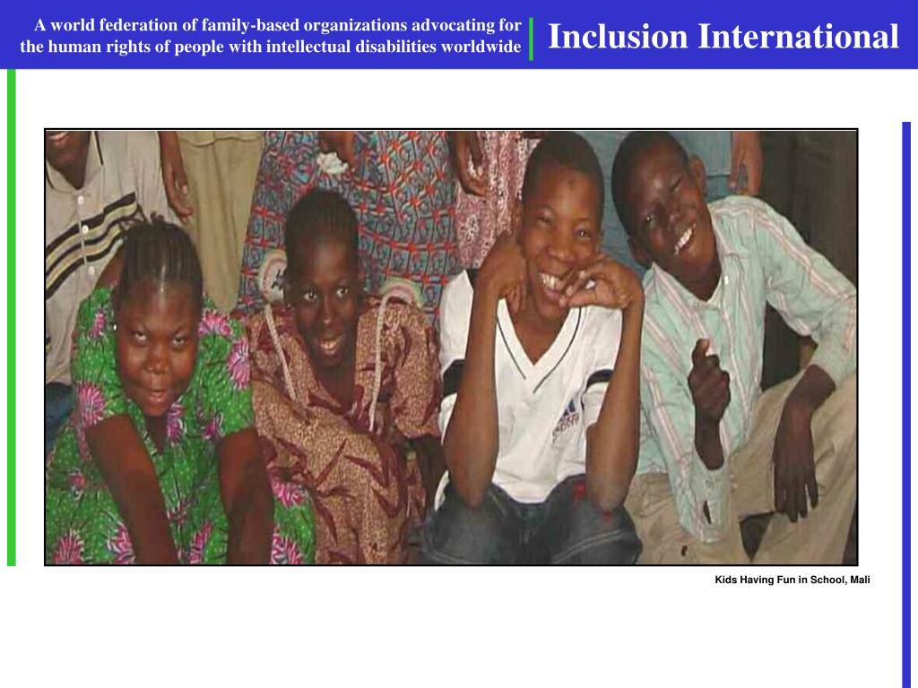 Kids Having Fun in School, Mali