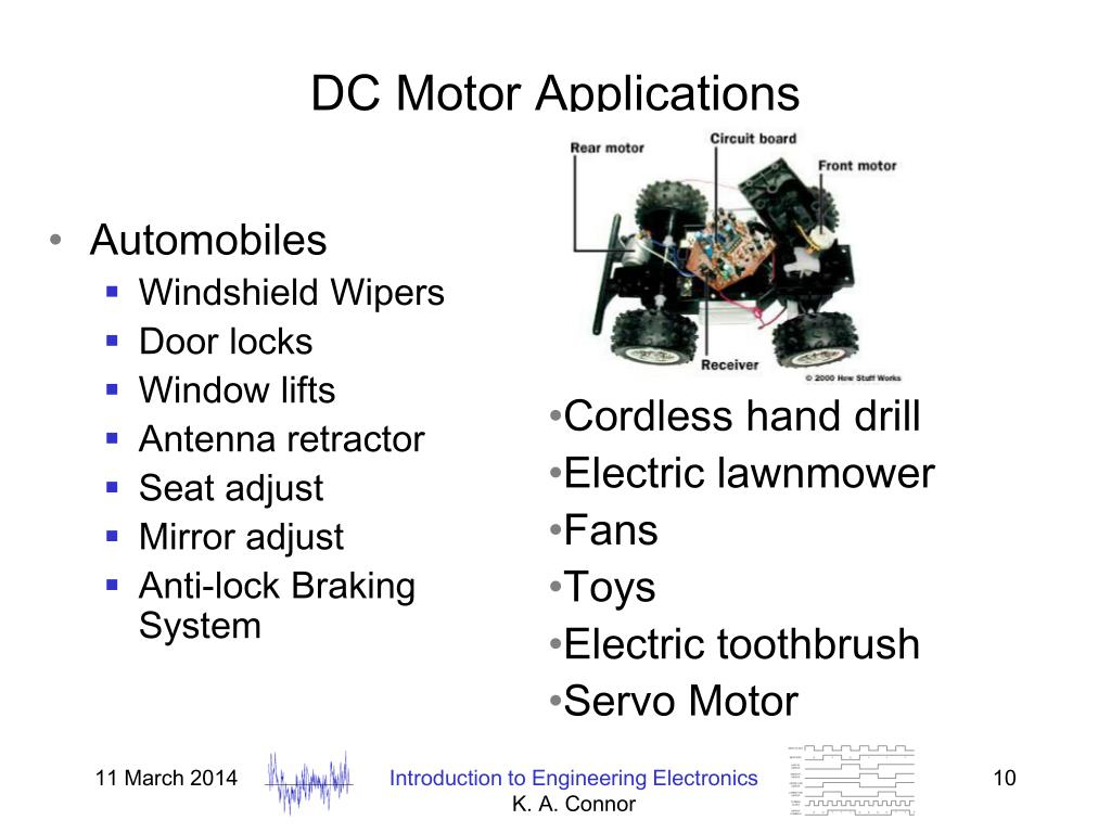 DC Motor Applications