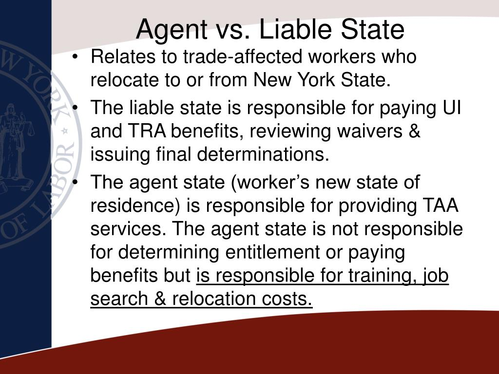 Agent vs. Liable State