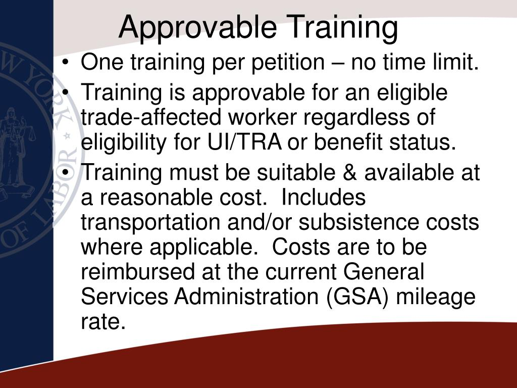 Approvable Training