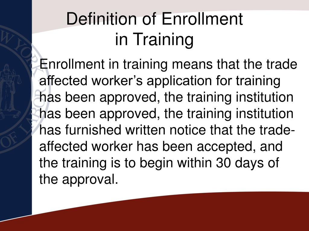 Definition of Enrollment