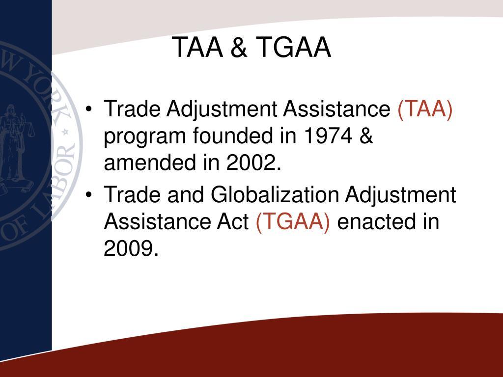 TAA & TGAA