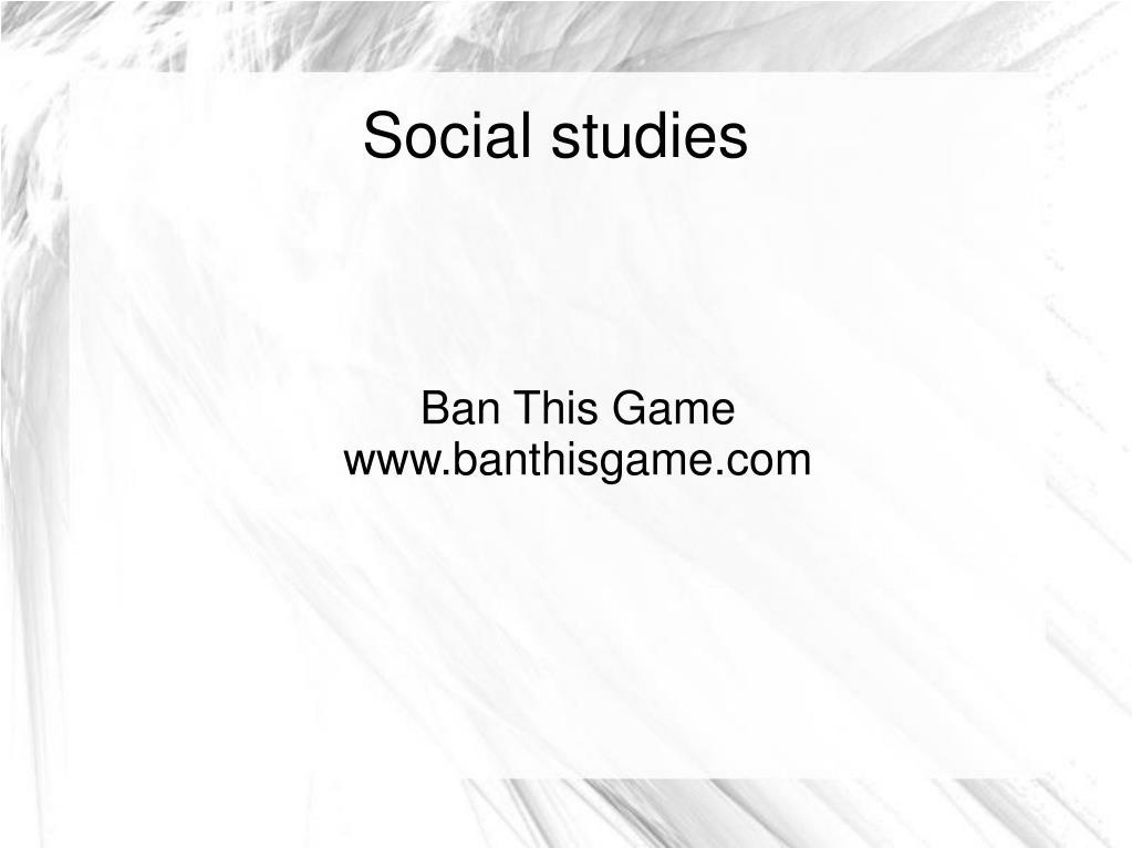 Ban This Game