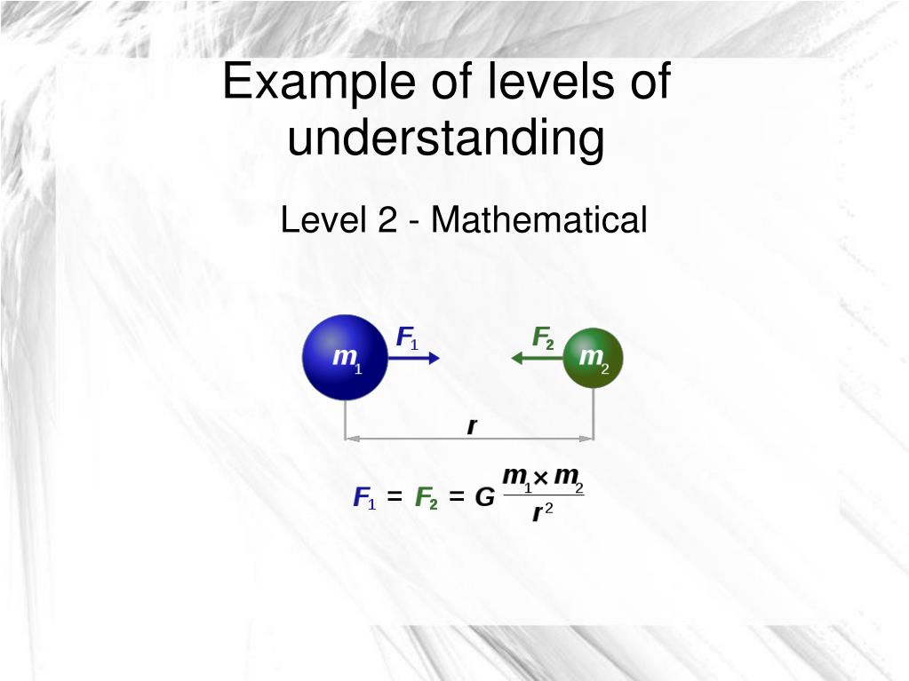 Level 2 - Mathematical