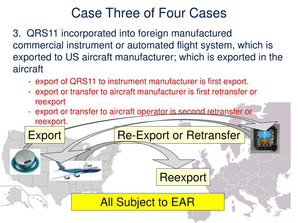 Case Three of Four Cases