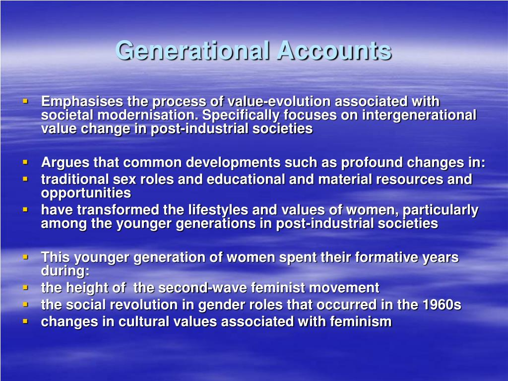 Generational Accounts