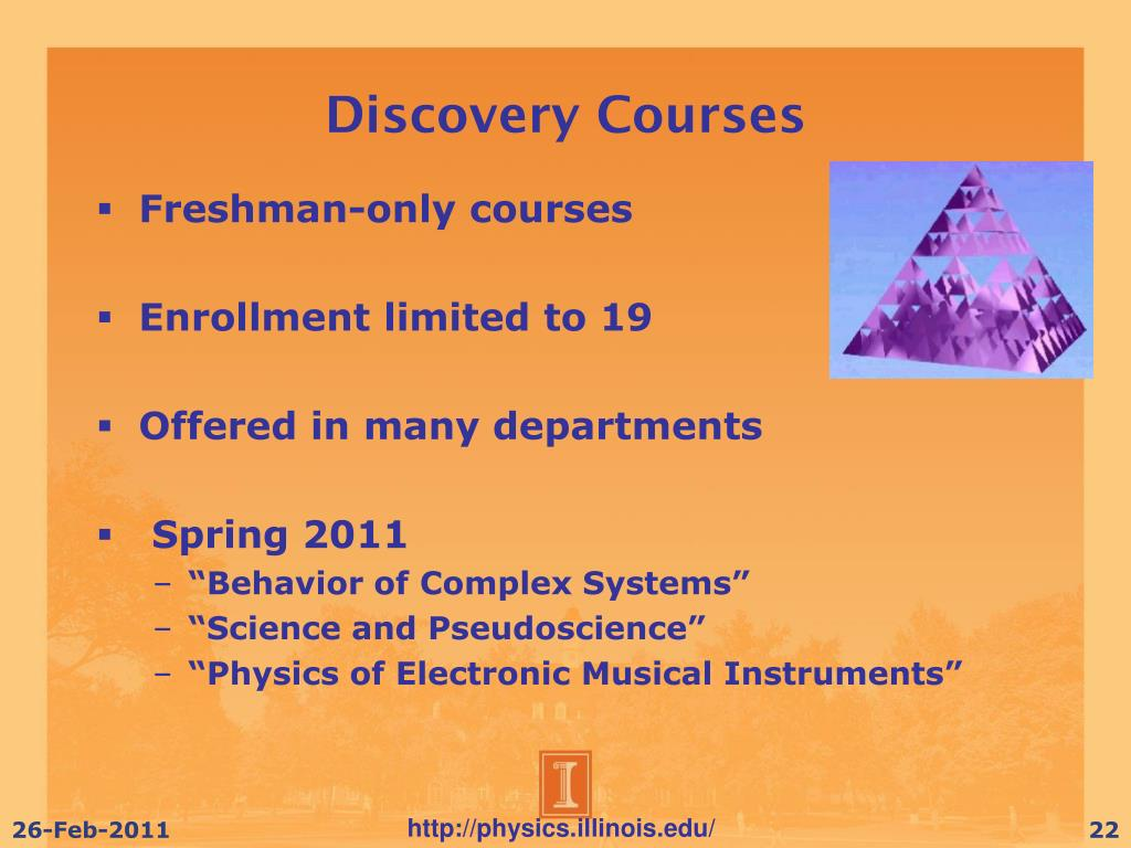Discovery Courses