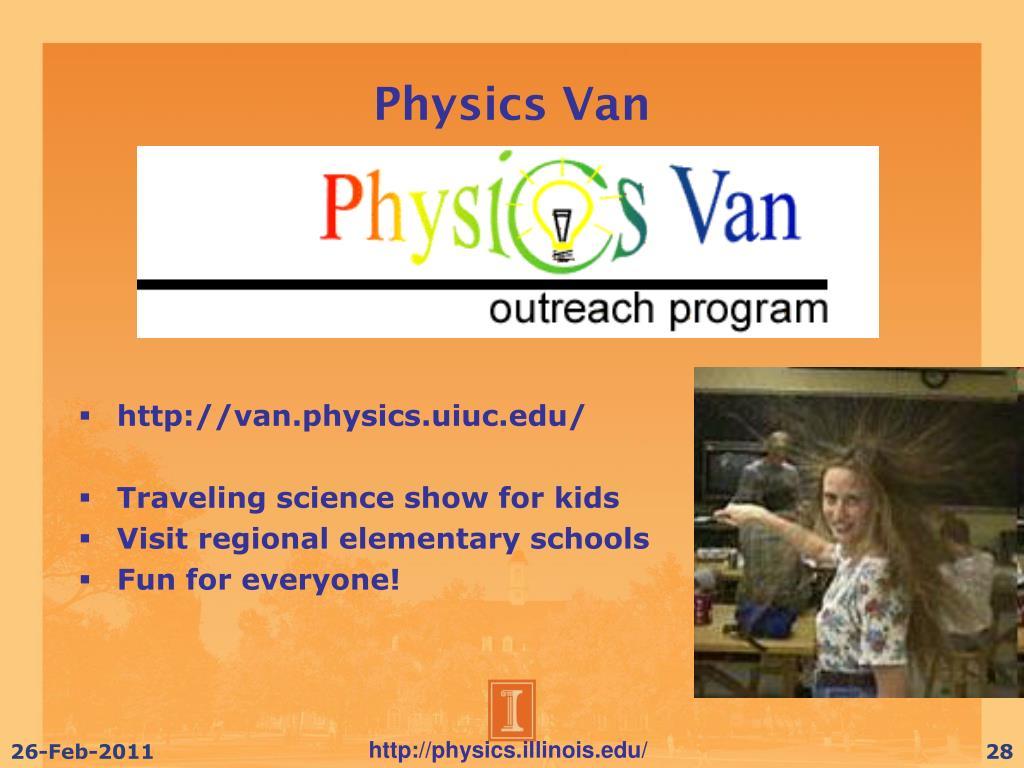 Physics Van