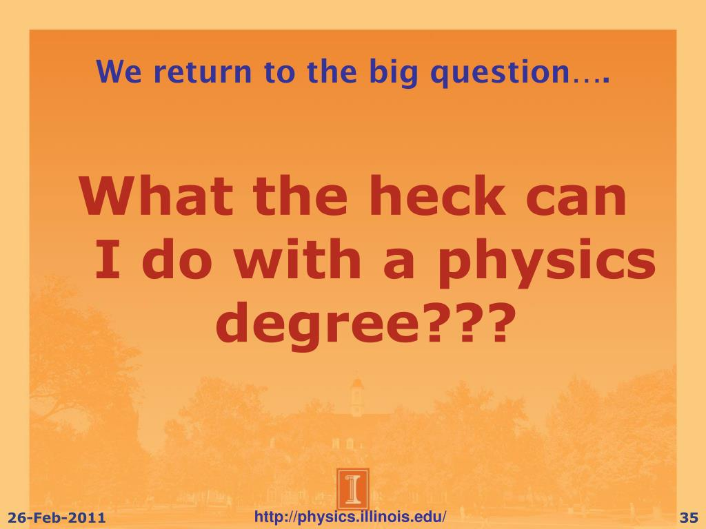 We return to the big question….