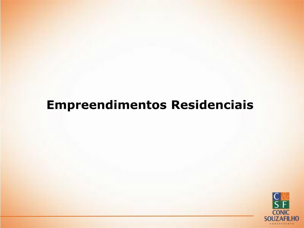 Empreendimentos Residenciais
