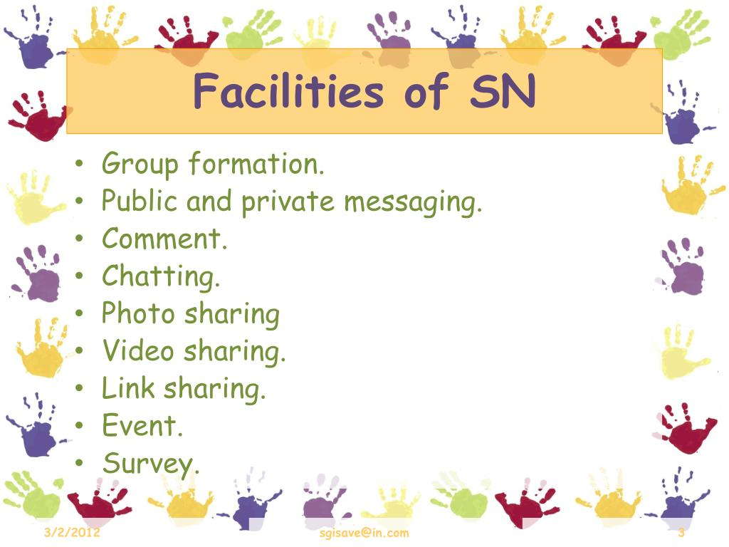 Facilities of SN
