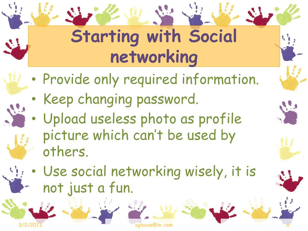 Starting with Social networking