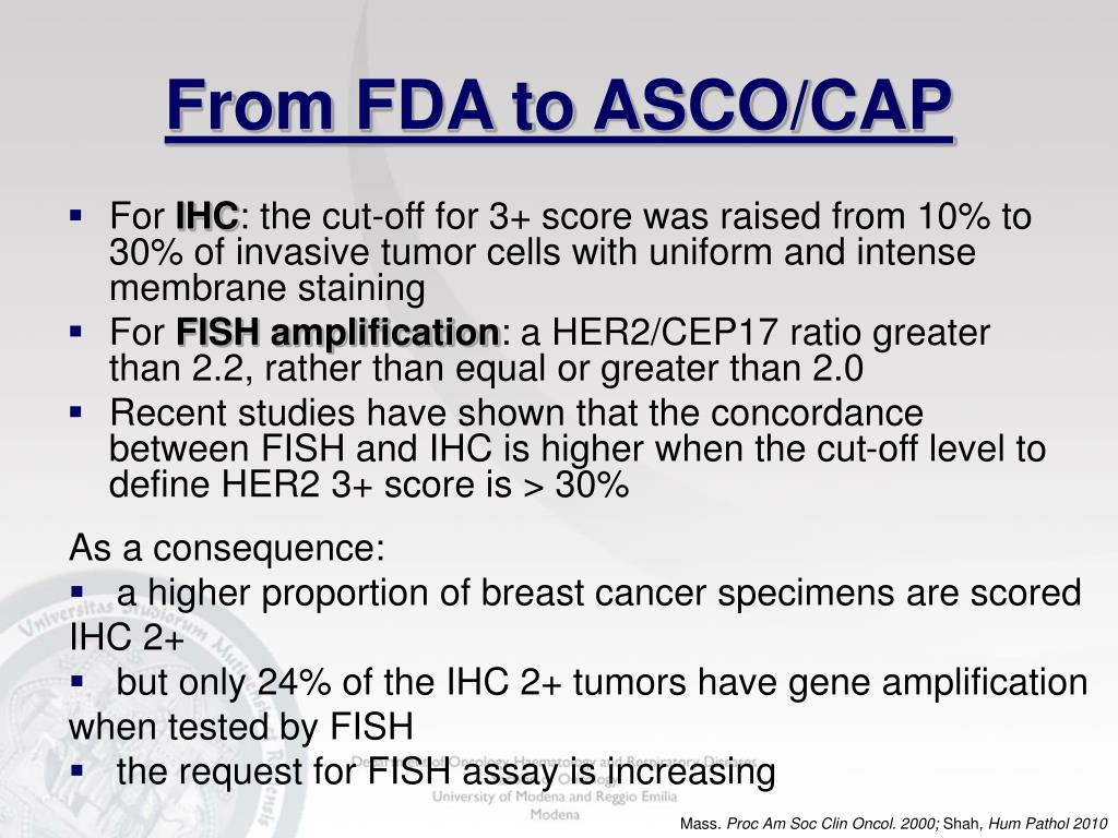 From FDA to ASCO/CAP