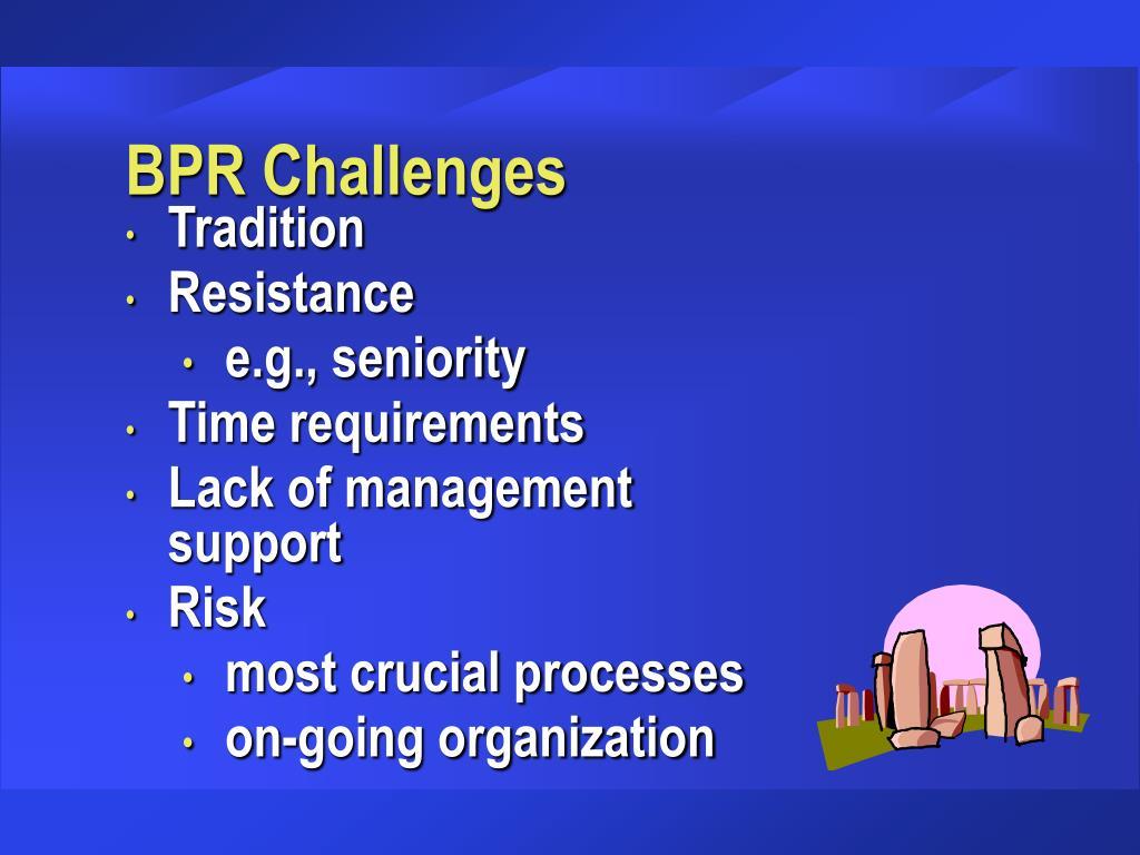 BPR Challenges