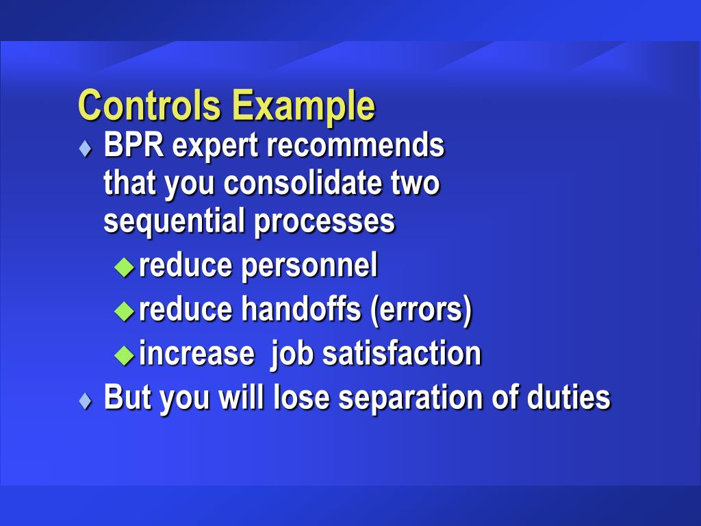 Controls Example