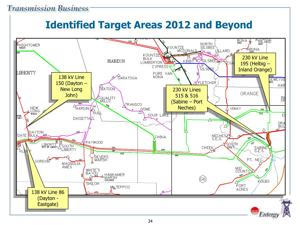 Identified Target Areas 2012 and Beyond