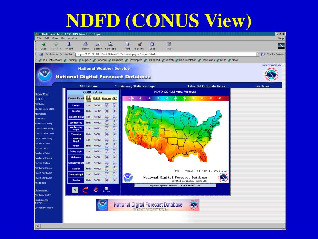 NDFD (CONUS View)