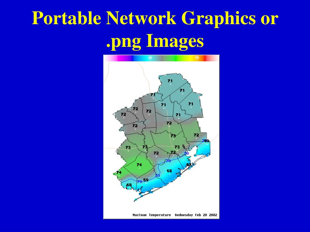 Portable Network Graphics or .png Images