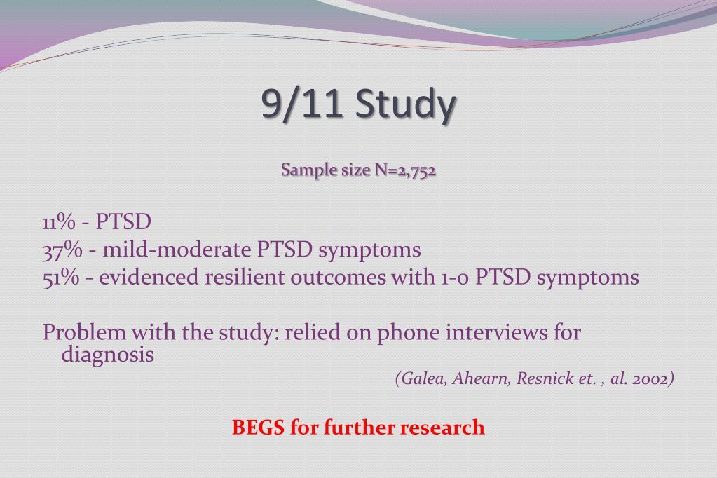 9/11 Study